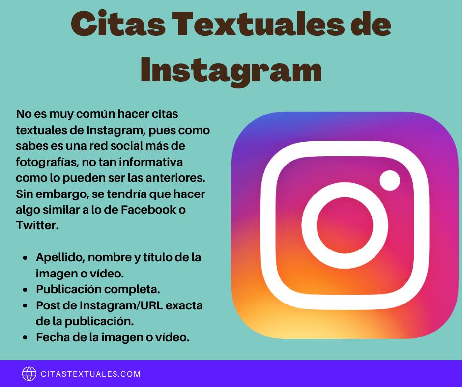 citas textuales de Instagram
