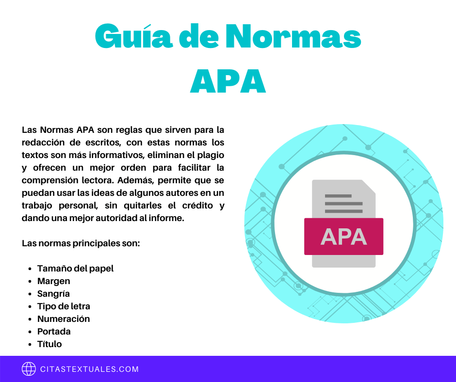 Guía de normas APA